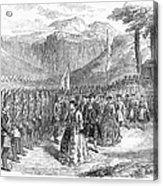 Opera: Grand Duchess, 1867 Acrylic Print by Granger