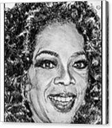 Oprah Winfrey In 2007 Acrylic Print by J McCombie