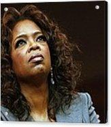 Oprah Winfrey In Attendance For Barack Acrylic Print by Everett