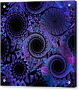 Optical Illusion Acrylic Print by Andee Design