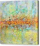 Orange Intenference Acrylic Print by Lolita Bronzini