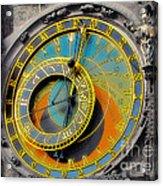 Orloj - Astronomical Clock - Prague Acrylic Print by Christine Till