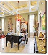 Ornate Dining Room Acrylic Print by Skip Nall