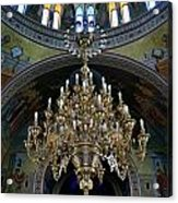 Orthodox Metroplitan Cathedral. Acrylic Print by Terence Davis