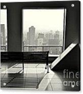 Osaka View Acrylic Print by Dean Harte