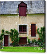 Outbuildings Of Chateau Cheverny Acrylic Print by Louise Heusinkveld