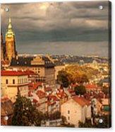 Overlook Prague Acrylic Print by John Galbo