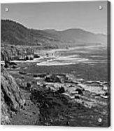 Pacific Coast Highway Coast Acrylic Print by Twenty Two North Photography