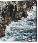 Pacific Coast Highway Seascape Acrylic Print by Gregory Scott