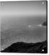 Pacific Coast Shoreline Vi Acrylic Print by Steven Ainsworth