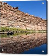 Paddling The Green River Acrylic Print by Tim Grams