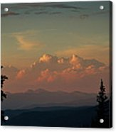 Painted Sky Acrylic Print by Larry Fry