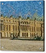Palace Of Versailles Acrylic Print by Aaron Stokes