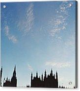 Palace Of Westminster Acrylic Print by Joseph Clark