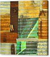 Panel With Peas Acrylic Print by Joe Jake Pratt