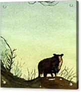 Parable Of The Lost Sheep Acrylic Print by Marsha Elliott