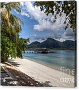 Paradise Island Acrylic Print by Adrian Evans