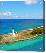 Paradise Island Acrylic Print by Kathy Jennings