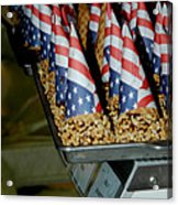 Patriotic Treats Virginia City Nevada Acrylic Print by LeeAnn McLaneGoetz McLaneGoetzStudioLLCcom