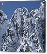 Peaks Of Takhinsha Mountains Acrylic Print by Matthias Breiter