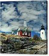 Pemaquid Lighthouse Acrylic Print by Alana Ranney