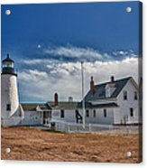 Pemaquid Point Lighthouse 4800 Acrylic Print by Guy Whiteley