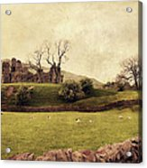 Pendragon Castle Acrylic Print by Linde Townsend