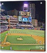 Petco Park San Diego Padres Acrylic Print by RJ Aguilar