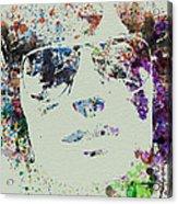 Peter Fonda Easy Rider Acrylic Print by Naxart Studio