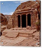 Petra's Garden Temple Acrylic Print by Dan Wiklund