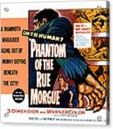 Phantom Of The Rue, Patricia Medina Acrylic Print by Everett
