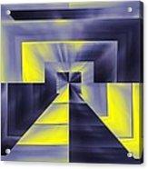 Pharaohs Dawning Acrylic Print by Tim Allen