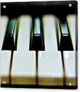 Piano Keys Acrylic Print by Calvert Byam