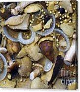 Pickled Mushrooms Acrylic Print by Michal Boubin