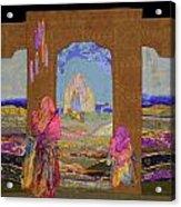 Pilgrimage Acrylic Print by Roberta Baker