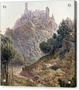 Pina Cintra Summer Home Of The King Of Portugal Acrylic Print by George Leonard Lewis