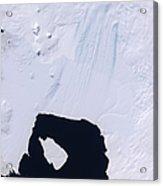 Pine Island Glacier Acrylic Print by Stocktrek Images