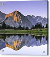 Pioneer Basin Morning Panorama Acrylic Print by Buck Forester