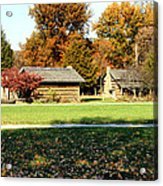 Pioneer Village 1 Acrylic Print by Franklin Conour