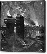 Pittsburgh: Blast Furnaces Acrylic Print by Granger