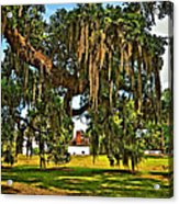 Plantation Acrylic Print by Steve Harrington