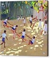 Playground Sri Lanka Acrylic Print by Andrew Macara