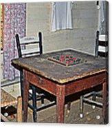 Playing Checkers Acrylic Print by Susan Leggett
