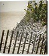Point Pleasant Beach Acrylic Print by Heather Applegate