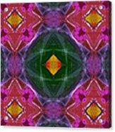 Polychromatic Arabesque Acrylic Print by Gregory Scott