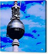Pop Art Berlin Acrylic Print by Falko Follert