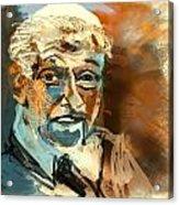 Pope Benedict Xvi Acrylic Print by James Thomas