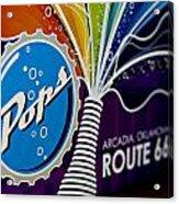 Pops II  Acrylic Print by Malania Hammer