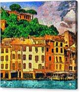 Portofino II Acrylic Print by George Rossidis