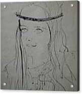 Portrait 1971 Colette Acrylic Print by Colette V Hera  Guggenheim